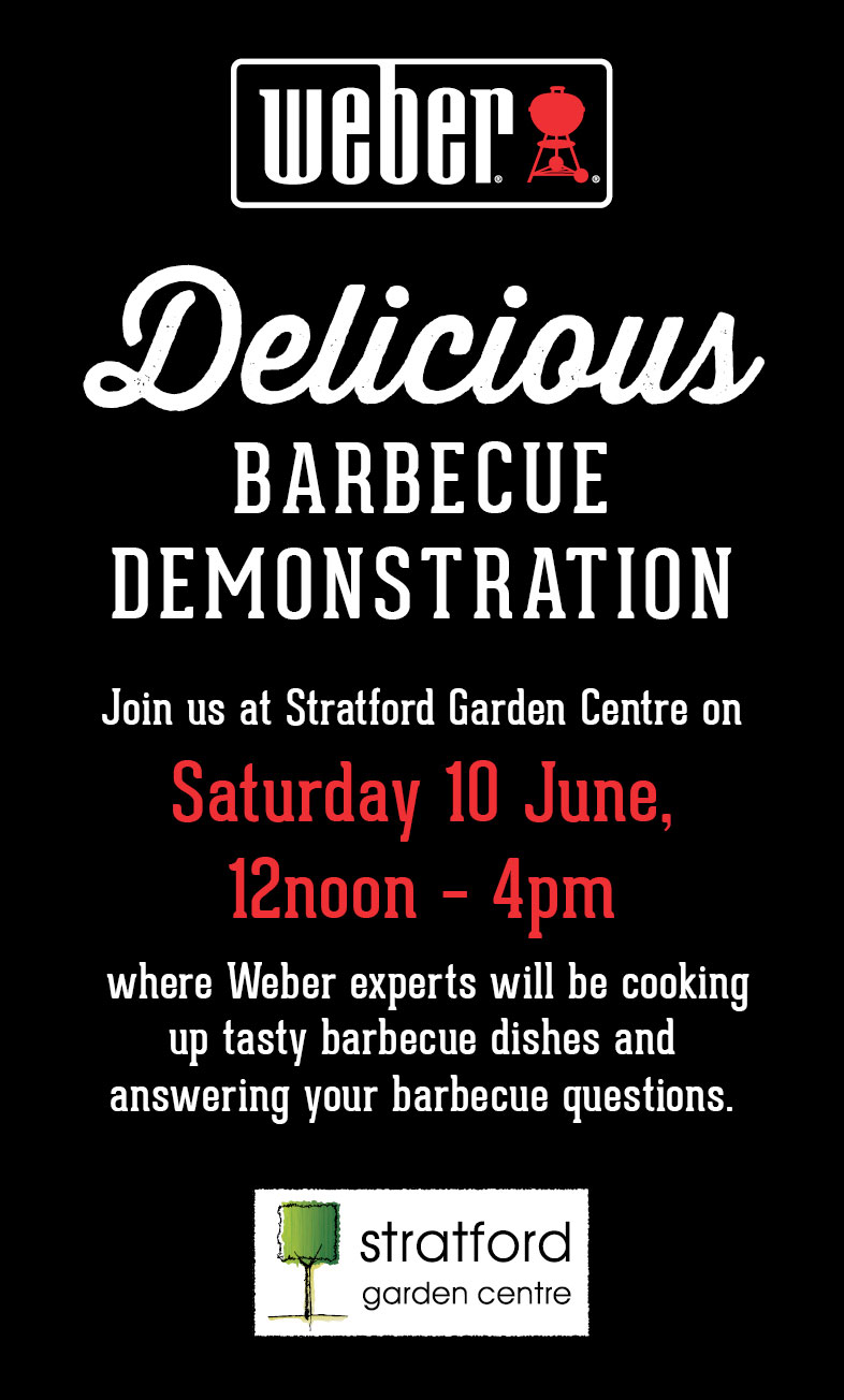 Weber-BBQ-demo-June-event-stratford-garden-centre